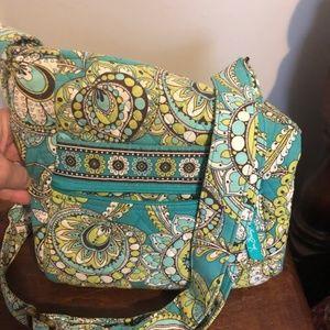 Vera Bradley crossbody floral bag